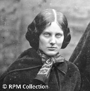 The Bronte Sisters - A True Likeness? - Charlotte Bronte Brown Eyes Iris